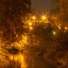 Kväll på Kärleksbron
